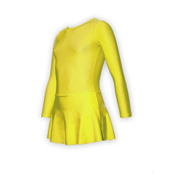 Желтый Купальник Для Танцев Купить